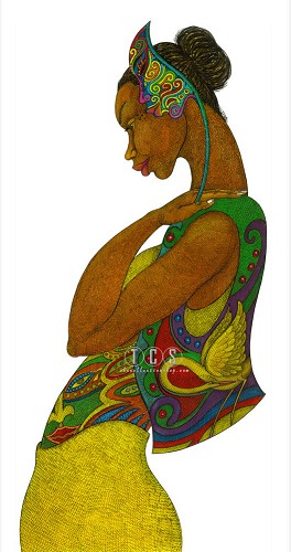 Charles Bibbs-The Mask Affair II Giclee