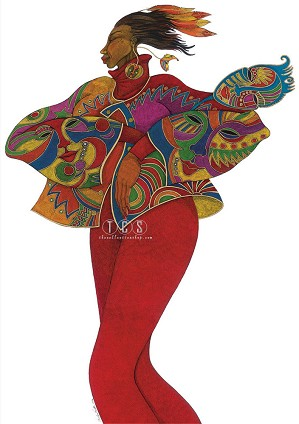 Charles Bibbs_The Mask Affair Giclee
