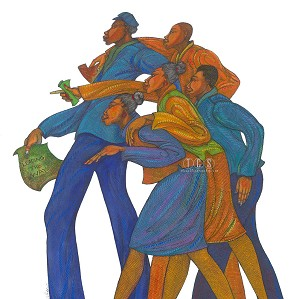 Charles Bibbs-Leading The Way Giclee