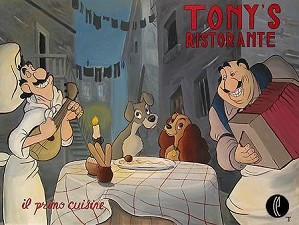 Tricia Buchanan Benson-Tonys Ristorante  (us Edition) - From Lady and The Tramp