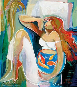 Irene Sheri-Goldfish (platinum)