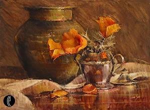 Jan Saia-Three Poppies