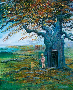 Peter / Harrison Ellenshaw-Fall In The 100 Acre Wood Winnie The Pooh