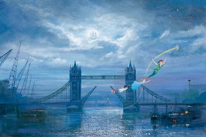 Peter / Harrison Ellenshaw-We Can Fly Peter Pan
