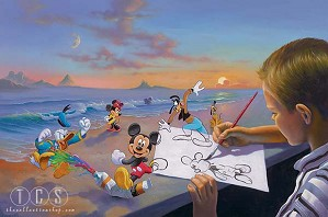 Disney Artist Jim Warren