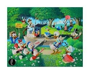 Carl Barks-Surprise Party - From Donald Duck