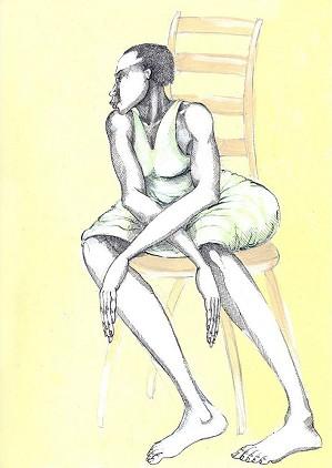 Charles Bibbs-A Chair & A Lady