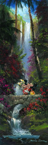 James Coleman-A Kiss by the Falls Mickey And Minnie