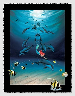 Wyland-Ariel's Dolphin Playground
