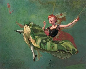 Jim Salvati-Art Imitates Art From The Movie Frozen