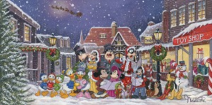 Michelle St Laurent-A Snowy Christmas Carol Gallery Wrapped