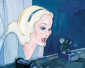 Jim Salvati-Blue Fairy - From Disney Pinocchio
