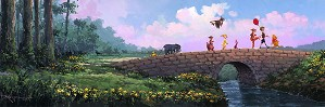 Rodel Gonzalez-Over the Stone Bridge - From Disney Movie Winnie the Pooh