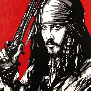 Allison Lefcort-CAPTAIN JACK SPARROW