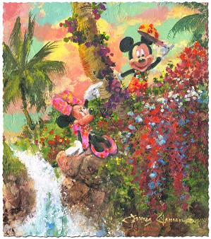 James Coleman-Colorful Island