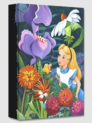 Michelle St Laurent-A Conversation with Flowers From Alice In Wonderland