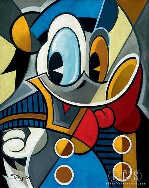Tim Rogerson-Cubist Quack
