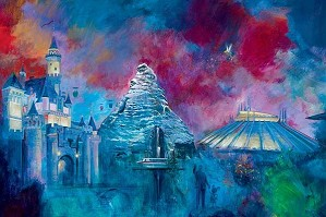 Harrison Ellenshaw-Disneyland's 50th