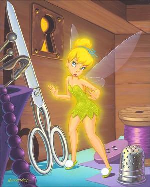 Manuel Hernandez-Drawer of Tiny Things - From Disney Peter Pan