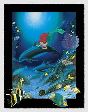 Wyland-Ariel's Dolphin Ride