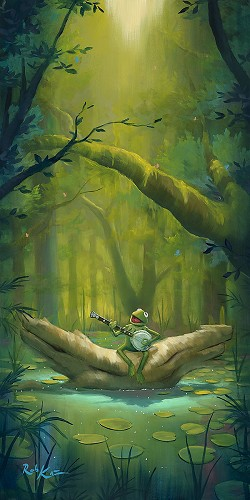 Rob Kaz -The Dreamers and Me Kermit The Frog
