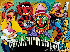 Tim Rogerson-Electric Mayhem Band - From The Muppets