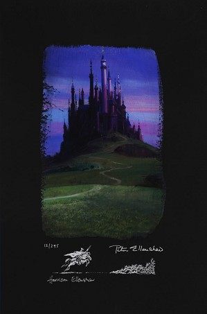 Peter / Harrison Ellenshaw-Sleeping Beauty Castle