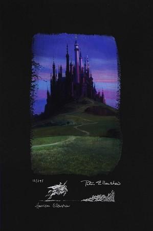 Peter / Harrison Ellenshaw-Sleeping Beauty Castle