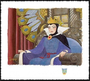 Toby Bluth-Face Of Evil Deluxe Snow White Evil Queen