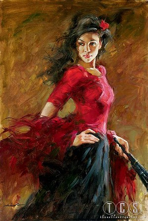 Andrew Atroshenko-Fan Dancer