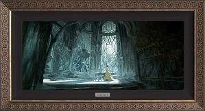 Disney Concepts-Belle Visits the West Wing Unframed