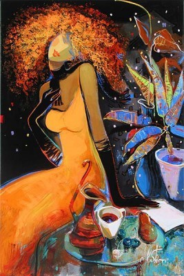 Irene Sheri-First Snow First Letter