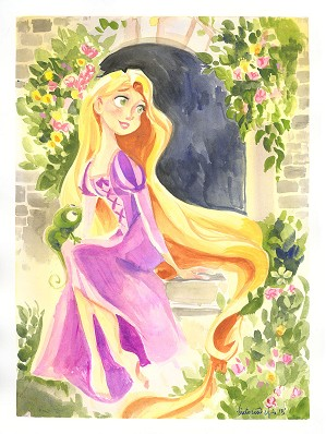 Victoria Ying-Flowing Locks of Gold From Disney Rapunzel