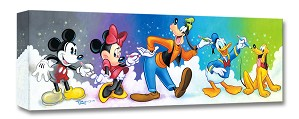 Tim Rogerson-Friends by Design Mickey And The Gang