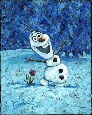 Trevor Mezak-Olaf From The Movie Frozen