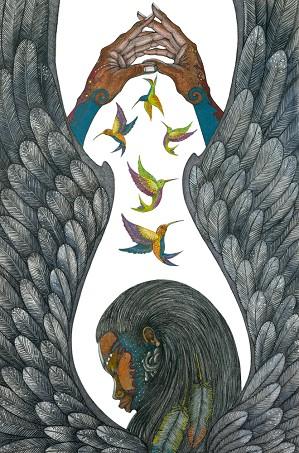 Charles Bibbs-Guardian Angel Giclee Artist Proof