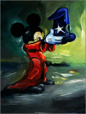 Jim Salvati-Here Is Your Hat - From Disney Fantasia