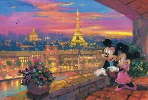 James Coleman-A Paris Sunset