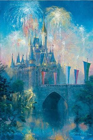 James Coleman-Walt Disney World Castle