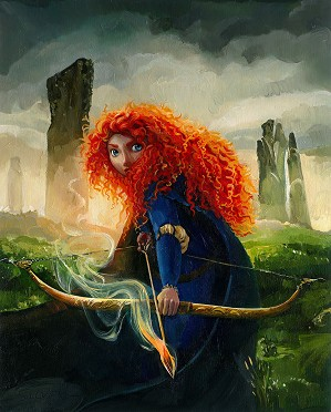 Jim Salvati-Brave Merida Petite