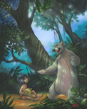 James C Mulligan-Jungle VIPs From The Jungle Book