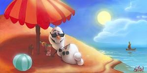 James C Mulligan-Letting Off Steam From Disney Movie Frozen