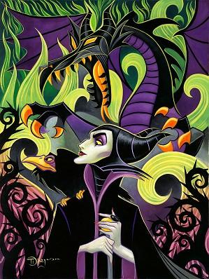 Tim Rogerson-Maleficent's Fury Premier Edition - From Disney Sleeping Beauty