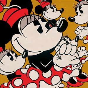 Trevor Carlton-Many Minnies Minnie Mouse