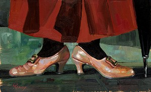 Lisa Keene-Mary's Chimchimeny Shoes From Mary Poppins
