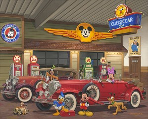 Manuel Hernandez-Mickey's Classic Car Club