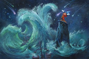 Michael Humphries-Mickey Creates the Magic From The Movie Fantasia