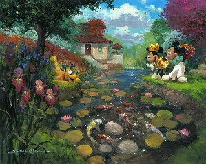 James Coleman-Mickey's Koi Pond