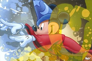 Arcy-Mickey Sorcerer From Fantasia