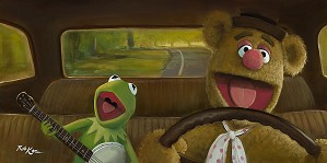 Rob Kaz -Movin Right Along The Muppets